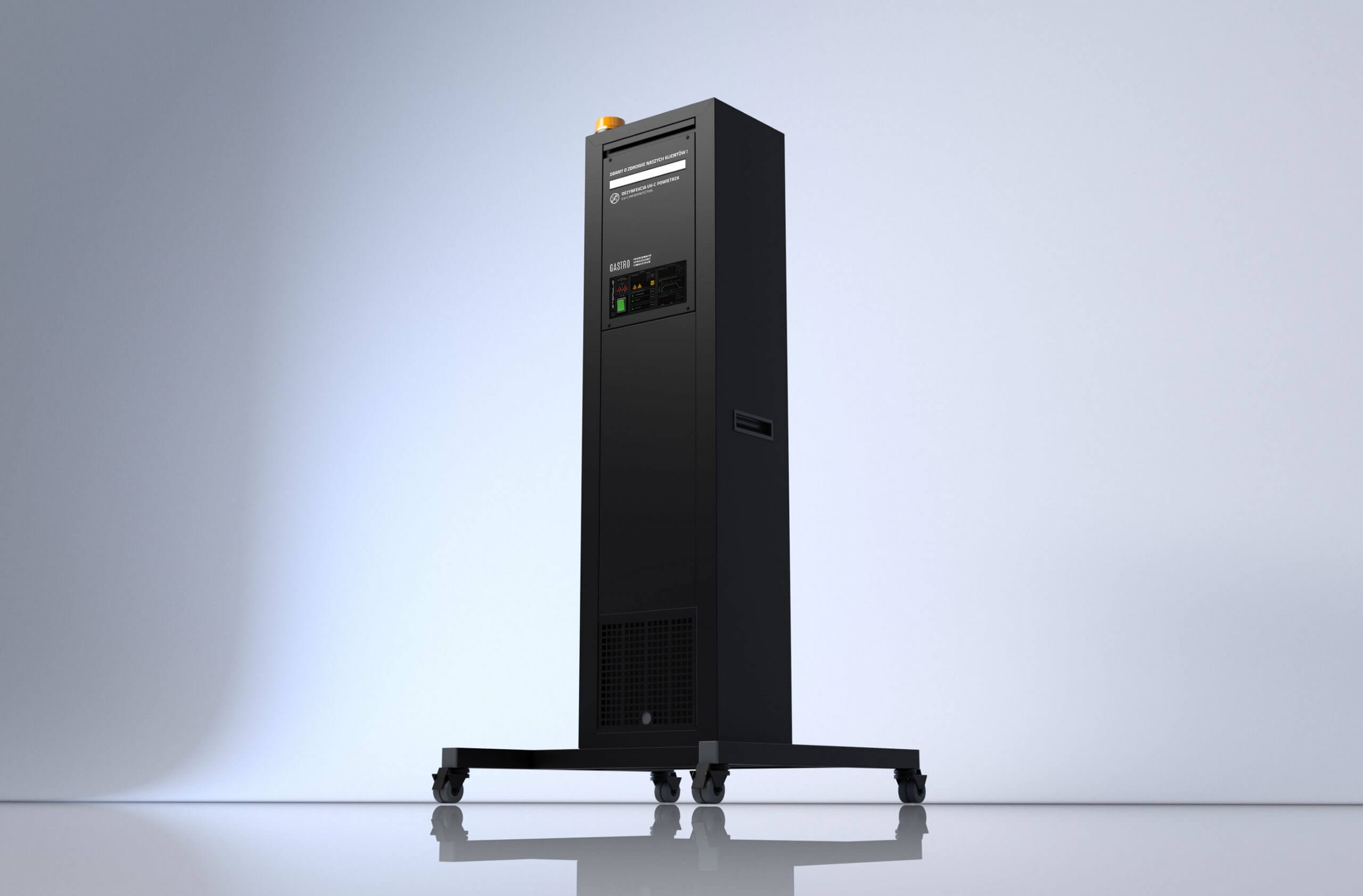 Sterylis zwalcza koronawirusa Miloo Electronics