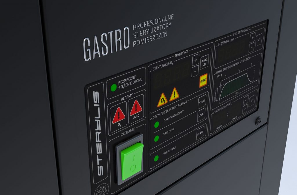 Sterylis panel miloo Electronics