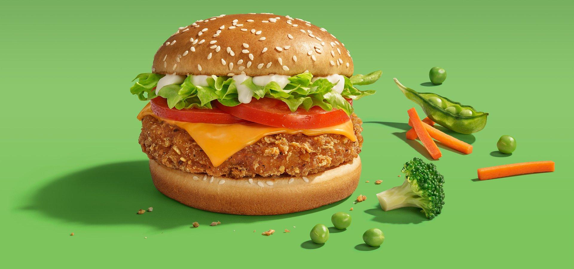 Veggie Burger Mcdonalds - Nowosciproduktowe.pl