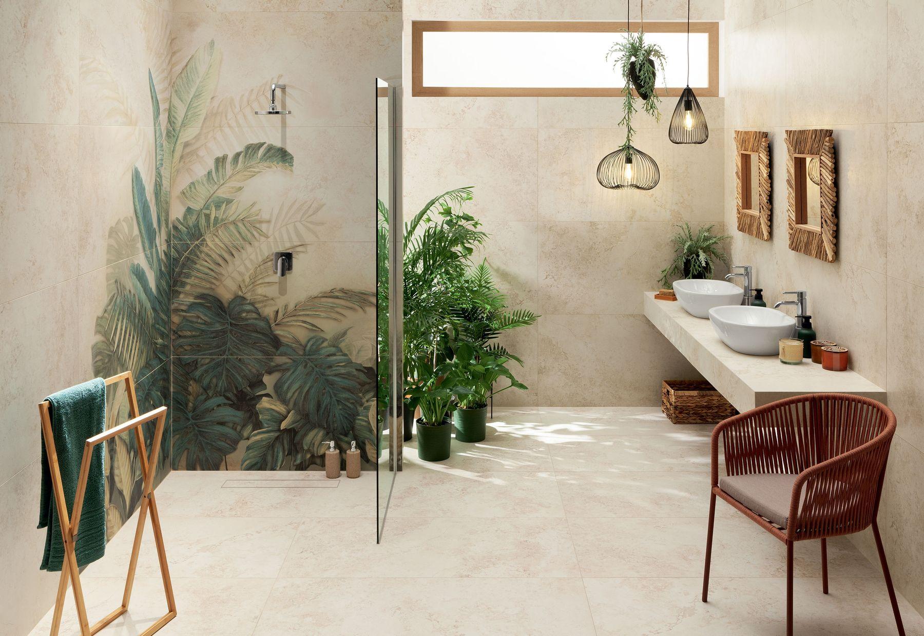 Alabaster Shine - pomysł na łazienkę w klimacie boho!