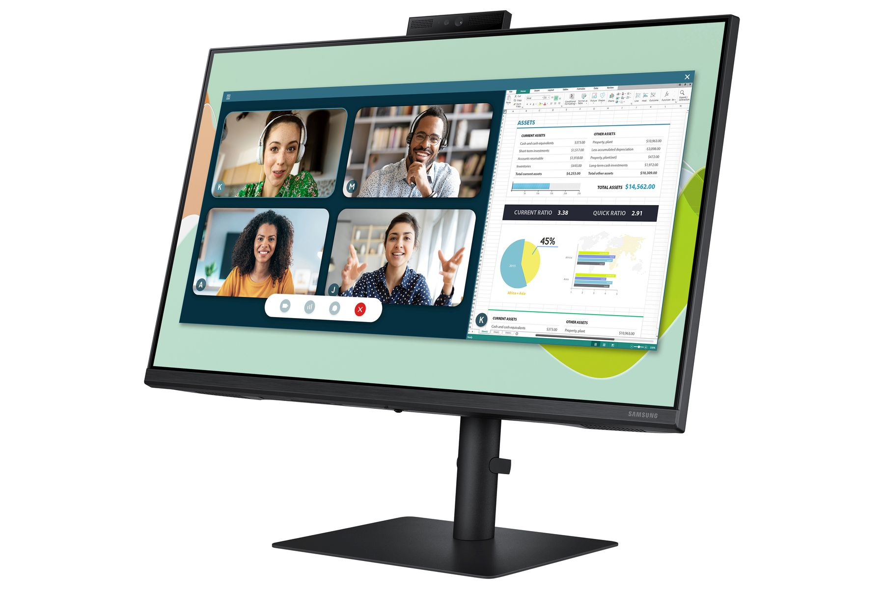 Monitor Samsung S4 - Nowosciproduktowe.pl