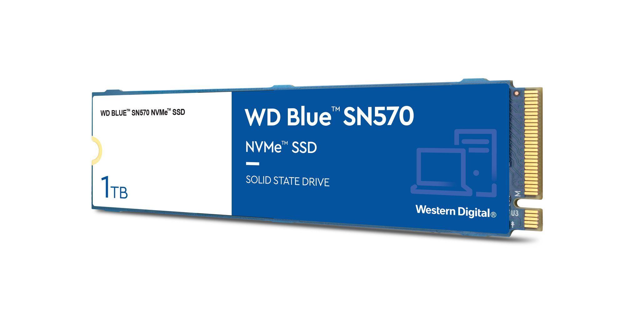 Dysk SSDWD Blue SN570 NVMe SSD, 1TB